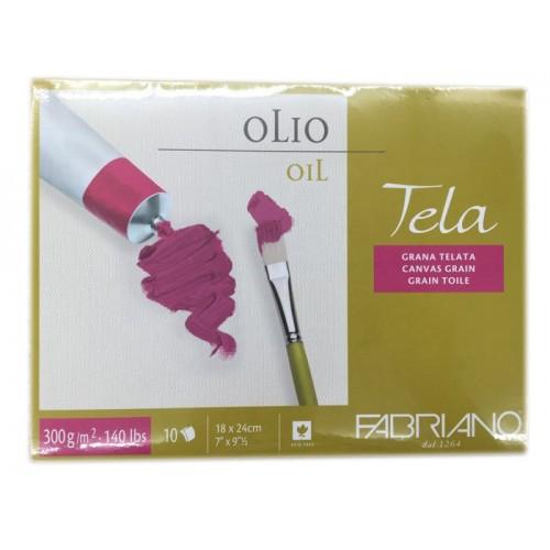 Fabriano Tela 優質油畫簿 (畫布紋)